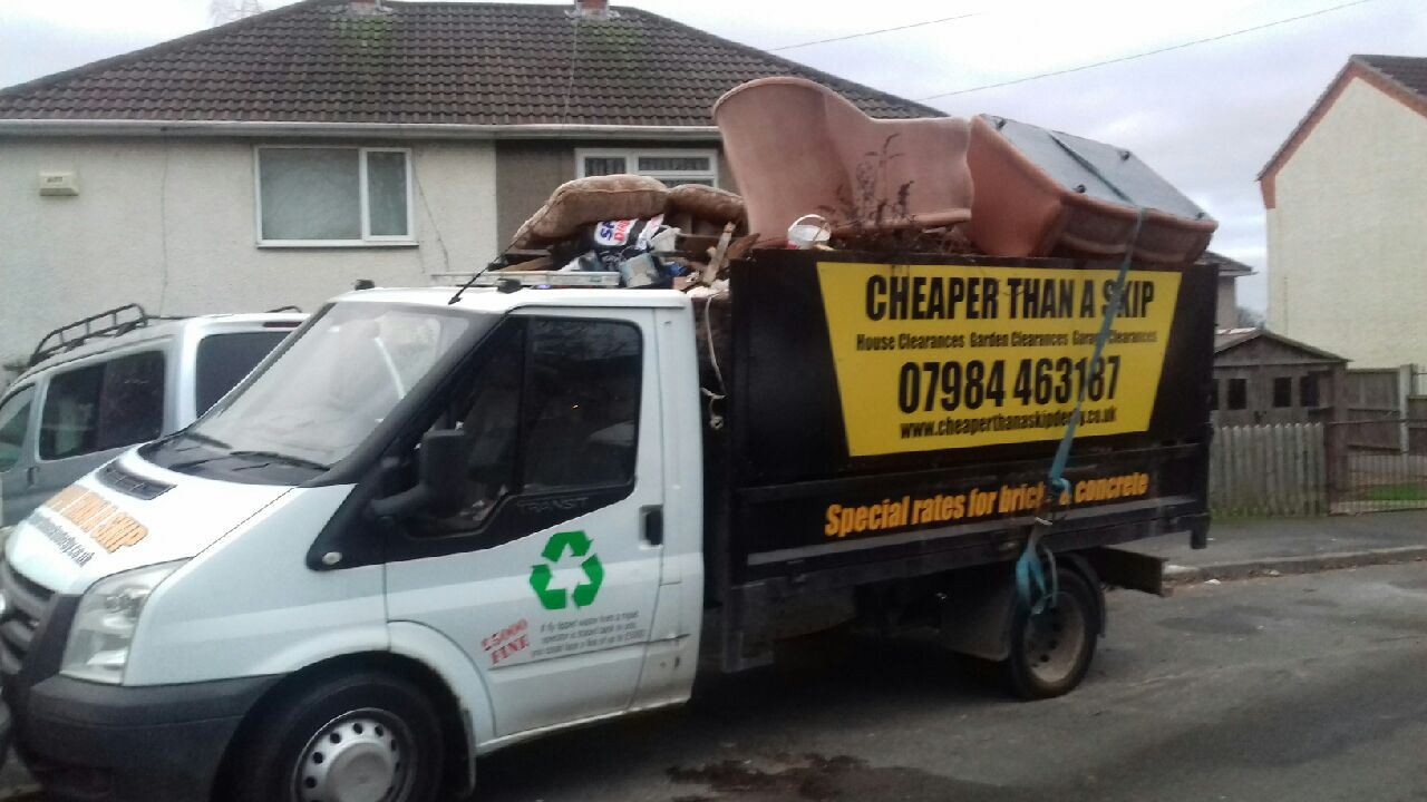 House Clearances in Derby from Cheaper than a Skip Derby