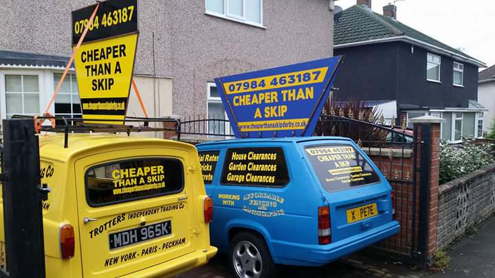 Rubbish Clearances and Removal in Derby from Cheaper than a Skip Derby